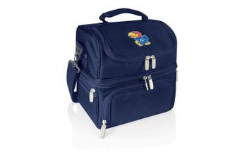 (Kansas Jayhawks, Navy) - PICNIC TIME NCAA Pranzo Insulated Lunch Tote