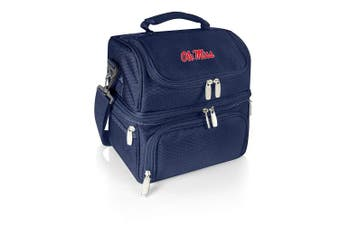 (Mississippi Old Miss Rebels, Navy) - PICNIC TIME NCAA Pranzo Insulated Lunch Tote