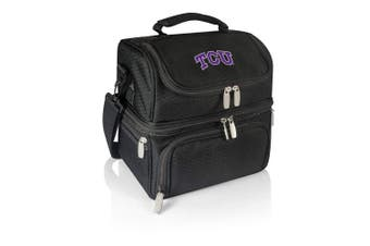 (Tcu Horned Frogs, Black) - PICNIC TIME NCAA Pranzo Insulated Lunch Tote