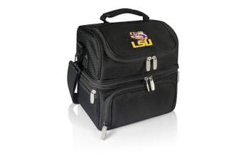 (Lsu Tigers, Black) - PICNIC TIME NCAA Pranzo Insulated Lunch Tote