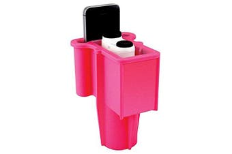 (Pink) - Range Gripper The for Golfers - an All-in-One Rangefinder/Smartphone Holder- Fits Any Golf Cart Cupholder, Secures & Protects Your Range Finder & Cell Phone - Never Lose Valuables Again