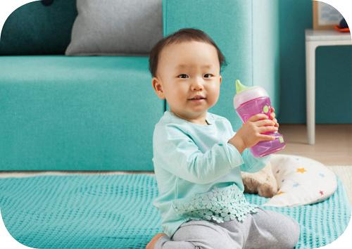 MAM Fun To Drink Cup For Baby 270 ml Toddler Cup comes with MAM Bottle Handles