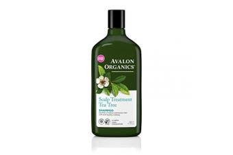 Avalon Organics Scalp Treatment Tea Tree Shampoo, 330ml