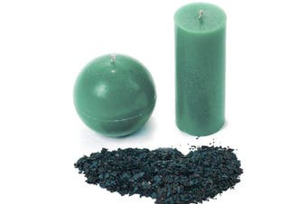 (Aquamarine) - Candle Shop - Aquamarine colour 60ml- Dye chips for making candles - Candle wax Dye - A great choice of colours