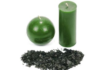 (Green) - Candle Shop - Green colour 60ml- Dye chips for making candles - Candle wax Dye - A great choice of colours