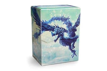Arcane Tinmen APS ART31633 Dragon Shield: Deck Shell Clear Blue Limited Edition Multicoloured