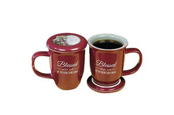 (Mug & Coaster) - Abbey Gift Blessed Mug and Coaster Set