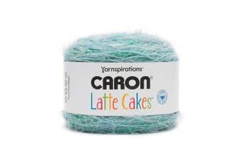 (Velvet Teal 291222-22006) - Caron Latte Cakes Self-Striping Yarn, 260ml / 250g, 530 Yards / 485 Metres (Velvet Teal 291222-22006)