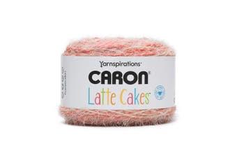 (Red Macaron 291222-22001) - Caron Latte Cakes Self-Striping Yarn, 260ml / 250g, 530 Yards / 485 Metres (Red Macaron 291222-22001)