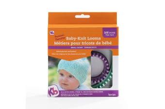 (1cm  Gauge) - Knitting Board Baby Knit Looms 2/Pkg