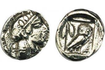 Athens Silver Didrachm