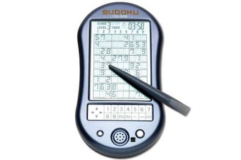 Deluxe Sudoku Handheld Game-Electronic Pocket Size Sudoku Game, LED Screen, Great Gift - Measures 2-3/4 wide x 4-3/4 long x 3/4 deep