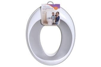 (Grey) - Dreambaby EZY- Potty Training Toilet Seat Topper, Non-Slip and Great for Travel