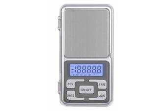 Eidyer Digital Pocket Scale,300g-0.01g Mini Scales, Portable Pocket Mini Scale Portable Weighting LCD Display, for Kitchen Food, Jewellery, Drug, Coffee,Yeast, Tea, Jewellery and Small Packages