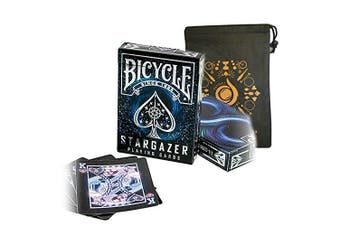 Stargazer Bicycle Cards - Cool Bicycle Deck - Includes Cascade Card Bag