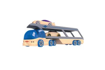 Automoblox Hauler with 2 Mini Vehicles