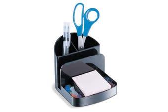 Officemate Recycled Deluxe Desk Organiser, Black (26022)