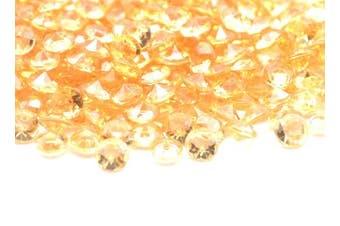 (Light Coffee) - Catotrem DIY Set Table Scatter Confetti Acrylic Diamond Stones Round Beads for Wedding, Vase Beads, Bridal Shower Decorations 4.5mm 5000Pcs(Light Coffee)