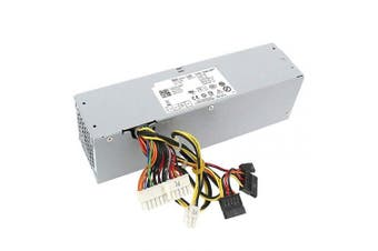S-Union 240W New Power Supply for Dell OptiPlex 390 790 960 990 3010 7010 9010 Small Form Factor SFF H240ES-00 D240ES-00 AC240AS-00 AC240ES-00 DPS-240WB L240AS-00 H240AS-00 3WN11-180 Days Warranty