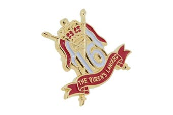 British Military Store 16th/5th The Queen's Royal Lancers Lapel Badge
