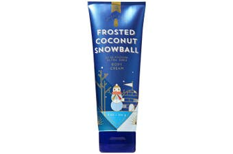 Bath and Body Works FROSTED COCONUT SNOWBALL Ultra Shea Body Cream 240ml (2018 Edition)