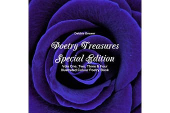Poetry Treasures - Vols One, Two, Three & Four Illustrated Colour Poetry Book [Special Edition]
