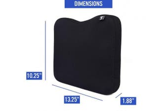 (Black) - Memory Foam Cushion Made for Concept 2 Rowing Machine