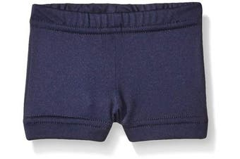 (Small, Navy) - Alleson Cheer Boy Cut Brief