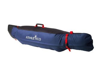 (Black / Blue) - Athletico Freestyle Padded Snowboard Bag