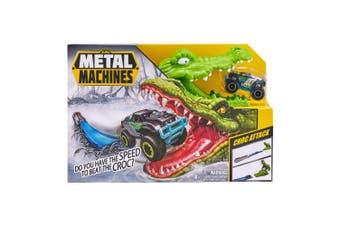 Zuru Metal Machines Playset Crocodile