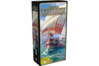 Asmodee RPOD0010 7 Wonders-Armada Expansion