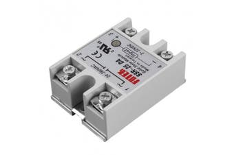 Artshu Solid State Relay Module SSR-25DA 25A /250V 3-32V DC Input 24-380VAC Output