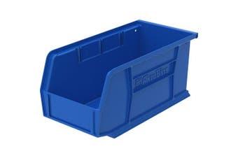 (blue, 13cm hx 5.13cm wx 10.220cm d) - Akro-Mils Akrobins Storage Bins