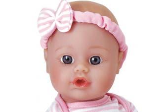 (Sweet Baby Girl) - Adora Sweet Baby Girl Doll Washable Soft Body Vinyl Play Toy Gift 28cm Light Skin & Blue Eyes for Children . )