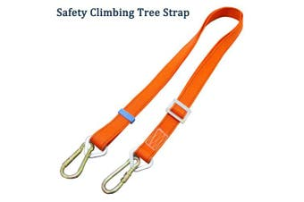 Boaton Safety Harness Climbing Tree Strap, Tree Climbing Gear, Add Level of Safety for Putting Up Deer Stand, Installing Steps, Ladder, Or Just Climbing Into Tree Stand and Trimming Tree