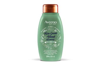 Aveeno Refresh & Thicken + Fresh Greens Blend Shampoo, 350ml