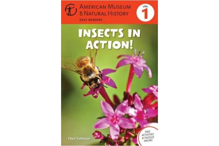 Insects in Action!: Level 1 (American Museum of Natural History Easy Readers)