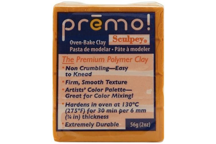 (Orange) - Premo Sculpey Polymer Clay 60mls-Orange