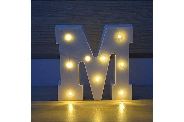 (M) - HopeU5 Decorative Vintage Style Best Christmas . conbination Battery Operated LED Light (M)