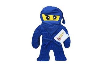 APINATA4U . Tall Blue Ninja Pinata