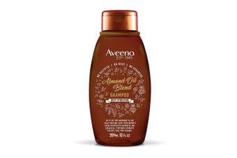 (Shampoo) - Aveeno Scalp Soothing Almond Oil Blend Shampoo for Deep Hydration, Sulphate Free Shampoo, No Dyes or Parabens, 350ml