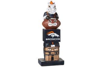 (Denver Broncos, 14cm  x 41cm , Brown) - Team Sports America NFL Unisex NFL Tiki Totem