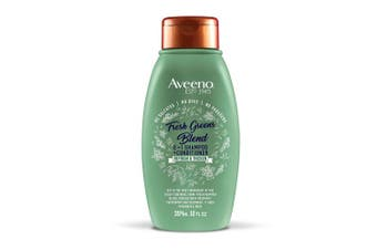 Aveeno Refresh & Thicken + Fresh Greens Blend 2 In 1, 350ml
