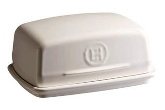 (Clay) - Emile Henry Butter Dish, Ceramic, Clay, 16.5x11.5x7.5 cm