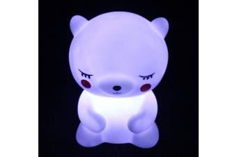 (Bear) - Amazon Black Sales Friday Cyber Sales Monday Sales & Cute Night Light for Kids,Led Nursery Bedroom Lamp Led Bedside Sleep Mood Nightlight Dinosaur Unicorn Ghost Bear Toy Gift for Children (Bear)
