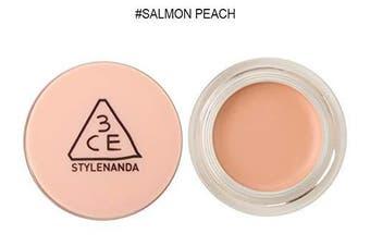 (Salmon Peach) - 3CE Cover Pot Concealer (6g 5ml) Long Lasting Concealer (Salmon Peach)
