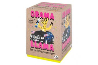 Obama Llama: The Celebrity Rhyming Party Game