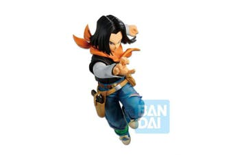 Dragon Ball Z The Android Battle with Dragon Ball Fighterz Android 17 Figure