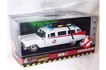 Jada ECTO-1 Ghostbusters Hollywood Rides Series car 1:32 scale diecast model