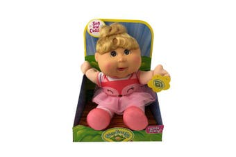 Cabbage Patch Kids Sittin Pretty Doll Blonde Hair Baby Doll Exclusive